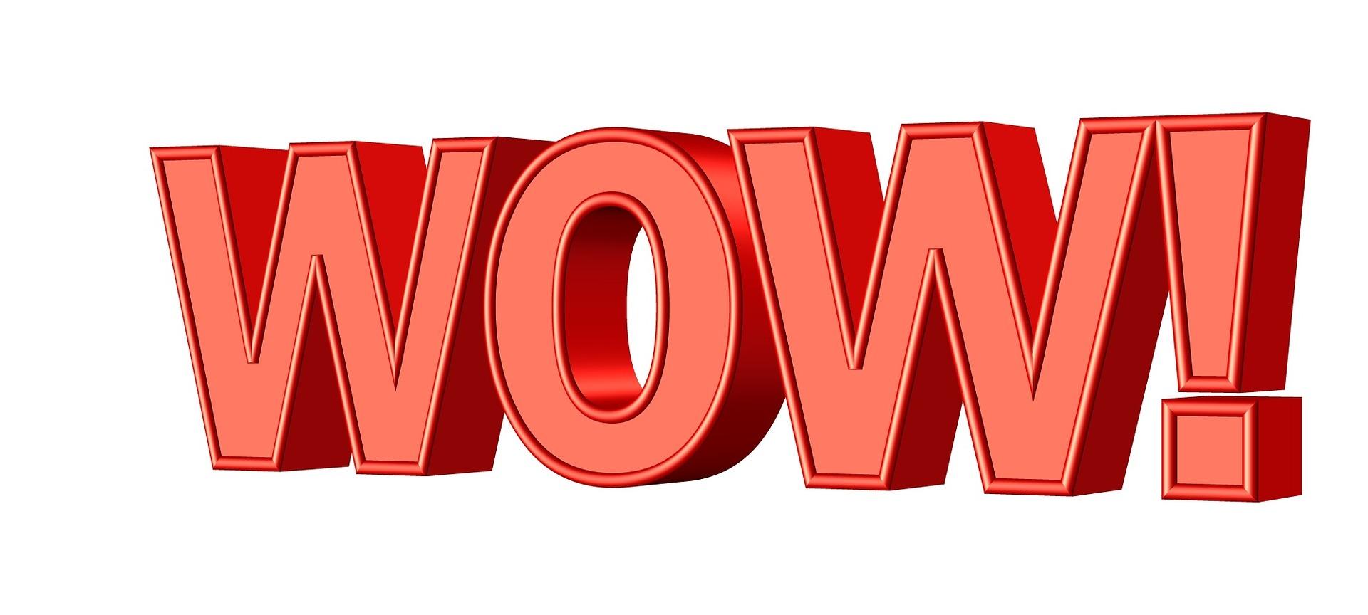 Piensa cómo conseguir que tu evento tenga un efecto WOW! a la hora de medir el ROI