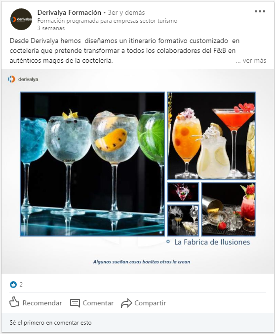 Foto del interaccion Derivalya análisis redes sociales